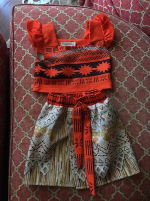 Moana outfit for Sale in Dallas, TX