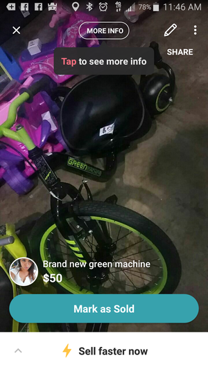 Brand new green machine for Sale in NC, US