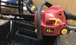 Homelite 18 inch gas chainsaw for Sale in Miami, FL