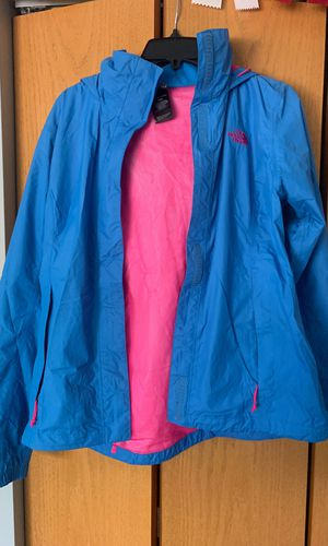 Blue North Face rain jacket for Sale in Plainfield, IL