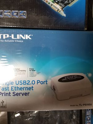 Ethernet to USB print Server for Sale in El Paso, TX