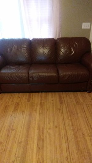 Love seat and sofa with chair and ottoman for Sale in Murfreesboro, TN