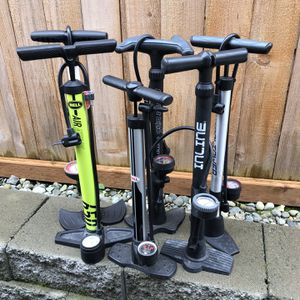 Air pumps for bike $20 for each for Sale in Lynnwood, WA