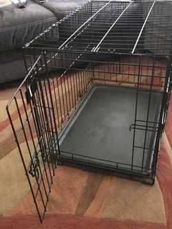 Crate / Kennel For Medium Size Dog Doble Door for Sale in Chandler,  AZ