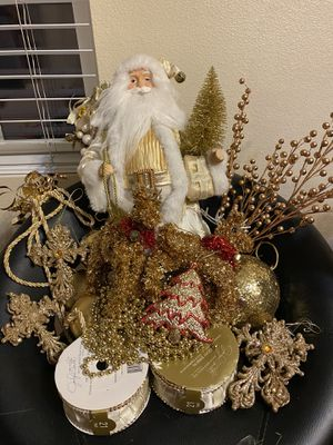 Christmas Gold Decoration for Sale in Chula Vista, CA