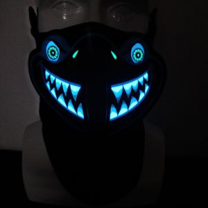 Light Up LED Face mask Sound Voice Activated LED for Sale in Boynton Beach, FL