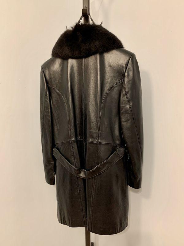 Women's Leather Jacket, Size: Large