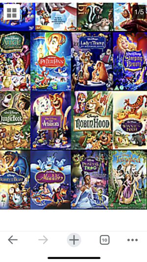 Disney DVD's collection for Sale in Washington, DC