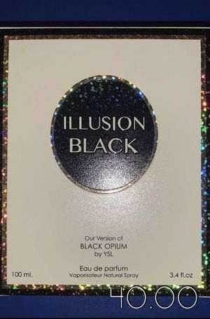 New Rendition Of Black Opium By Yves Saint Laurent for Sale in Salt Lake City, UT