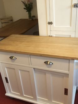 Crate & Barrel kitchen Island for Sale in Los Angeles,  CA