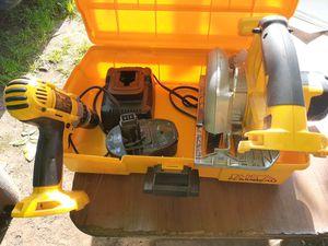 Dewalt saw, drill for Sale in Portland, OR