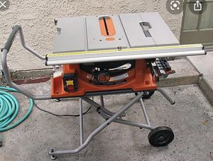 Rigid R4510 Table Saw for Sale in Forney, TX