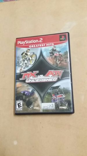 MX vs. ATV Unleashed, PS2 for Sale in Jamul, CA