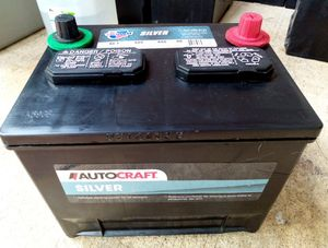 Autocraft Silver group 86 car truck battery perfect condition for Sale in Raleigh, NC