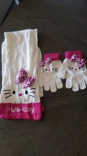 Hello Kitty scarf set for Sale in Tucson, AZ