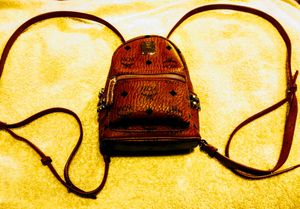 MCM Mini-Backpack. Authentic. New!! for Sale in Tacoma, WA