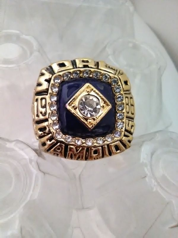 NY METS 1986 Strawberry Ring Size 11