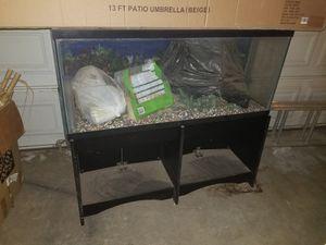 55 gallon aquarium for Sale in Moreno Valley, CA