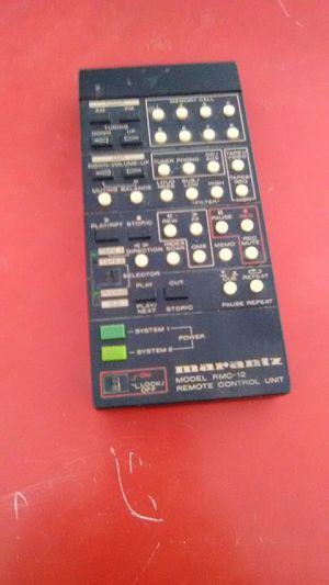 Marantz Remote Control * RMC-12 * Audio Video Complete Controller for Sale in Phoenix, AZ