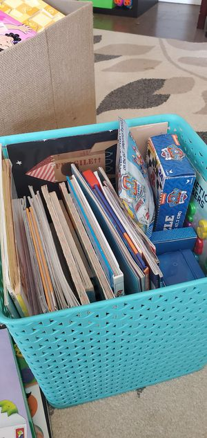 Large Children's Book/Game Lot for Sale in Frisco, CO
