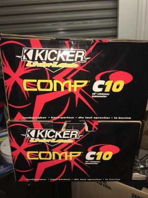 "er 10C104 Comp 10"" 4-ohm subwoofers for Sale in Philadelphia, PA"
