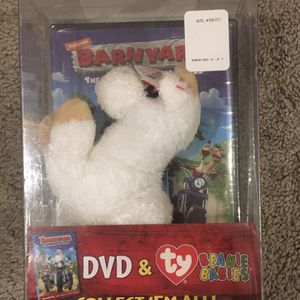 Barnyard DVD And Beanie Baby Combo for Sale in Canton, GA
