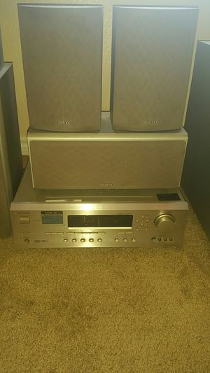 Onkyo receiver and speakers for Sale in Las Vegas, NV