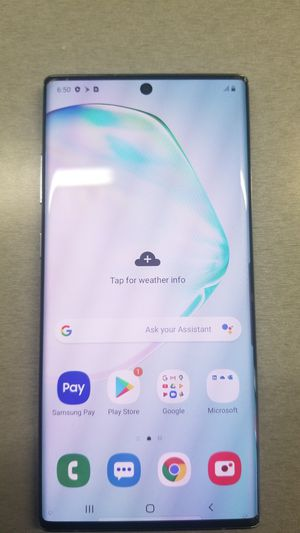Samsung Note 10+ unlockee for Sale in Orlando, FL