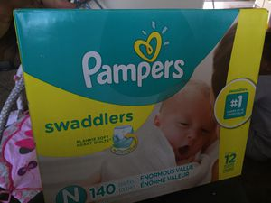 Newborn Diapers for sell for Sale in San Bernardino, CA