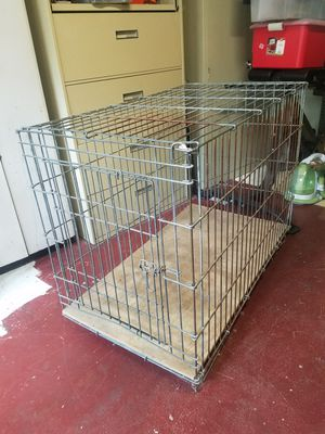 Large breed dog cage for Sale in Third Lake, IL