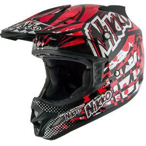New Black Red Dot Off Road Dirt Bike Motorcycle Helmet $90 for Sale in Whittier, CA