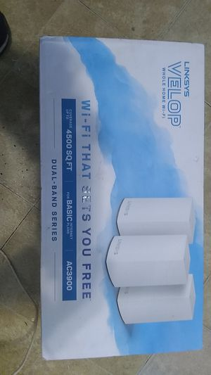 Linksys Velop Whole Home wi-fi for Sale in Oklahoma City, OK