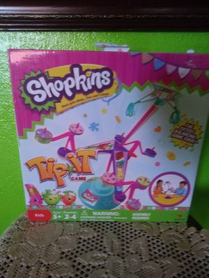 Shopkins game my daughter only play it a couple times only $1.00 for Sale in Hesperia, CA