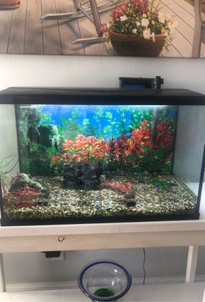 Fish Tank with everything for Sale in Oklahoma City, OK