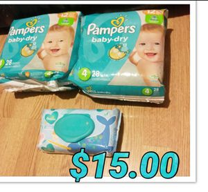 Pampers for Sale in Troy, MI