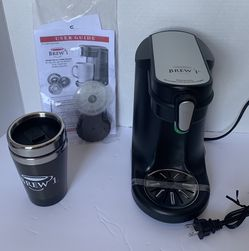 10 Oz Brew 1 Single Serve Coffee Brewer With Coffee Cup for Sale in Lancaster,  CA