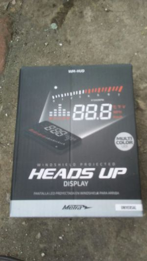 Brand new heads up display unit for Sale in St. Petersburg, FL