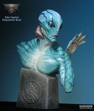 And sapien statue sideshow collectibles hot toys Hellboy for Sale in Los Angeles, CA