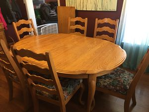 Kitchen Table & Matching Hutch for Sale in Sterling City, TX