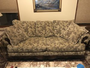 Medium Size Couch Sofa Tan for Sale in Mesa, AZ