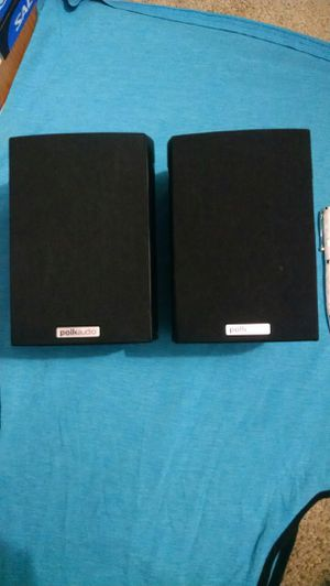 1 pair Polk speaker for Sale in Brooks, OR