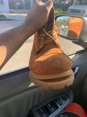 Damaged timberland boots , $80 obo size 12 for Sale in Inglewood, CA