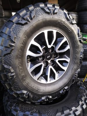 Ford F150/Raptor Wheels & 35x17 Nitto MTs for Sale in Spring Valley, CA