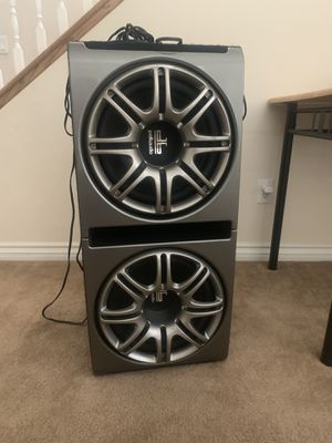 2 12inch Polk Audio subs for Sale in North Las Vegas, NV