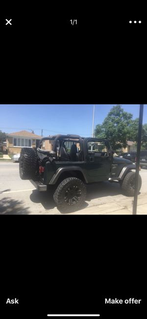 2001 JEEP WRANGLER TJ *✌️ for Sale in Chicago, IL