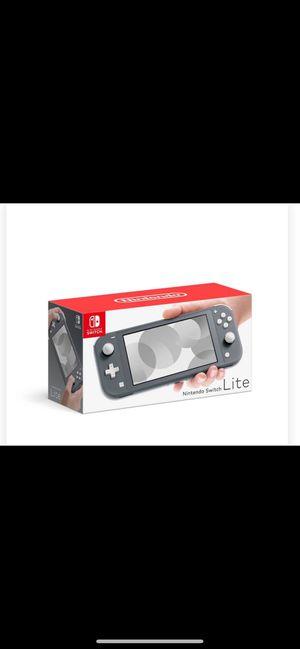 Nintendo Switch Lite Gray for Sale in Brandon, FL