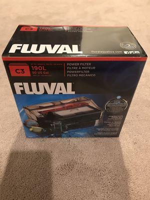 Fluval C3 Power Filter Aquarium HOB (Brand New!) for Sale in Anaheim, CA