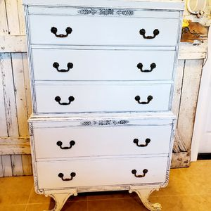 RARE FIND- BEAUTIFUL TWO TEAR TALLBOY DRESSER BY WHITE FURNITURE CO for Sale in Auburn, WA