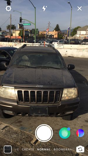 2000 Jeep Grand Cherokee Limited For Parts Or As Is $350.00 for Sale in Oakland, CA