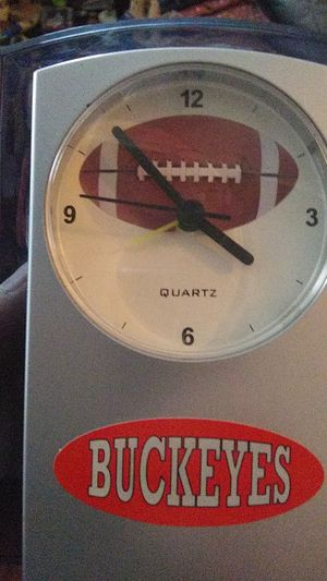 Ohio State buckeyes desk top clock with alarm for Sale in Columbus, OH